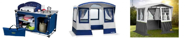 A punto para la Temporada? Has visto nuestros muebles de Camping y las tiendas de cocina?