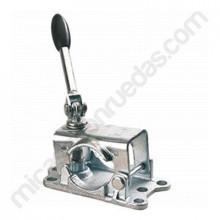 Soporte de fijación para ruedas jockey 48 mm