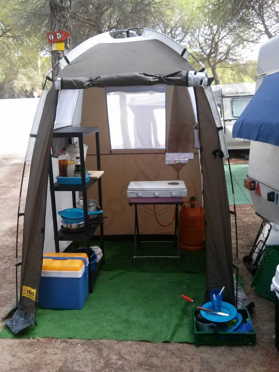 Tienda cocina camping multiusos marc 150 x 150 - Muebles de cocina camping ...