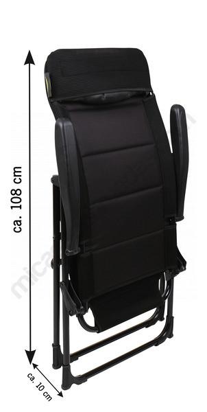 Cadira MALAGA MESH dimensions