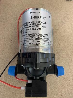 Bomba Shurflo 7L posterior