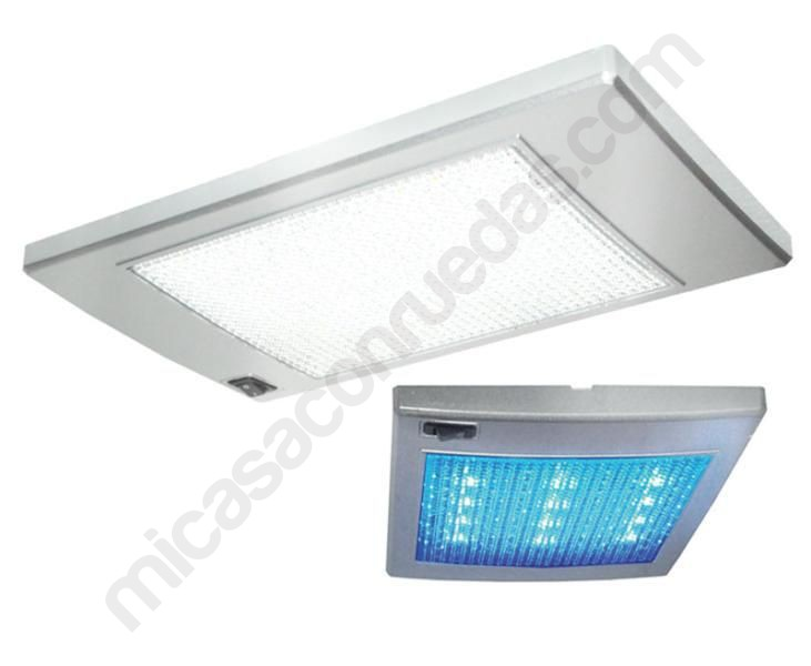 Plaf n rectangular 36 leds 12 leds luz viaje - Plafon led cocina rectangular ...