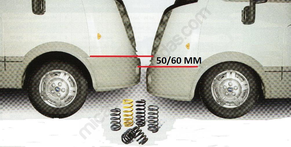 suspension delantera autocaravana