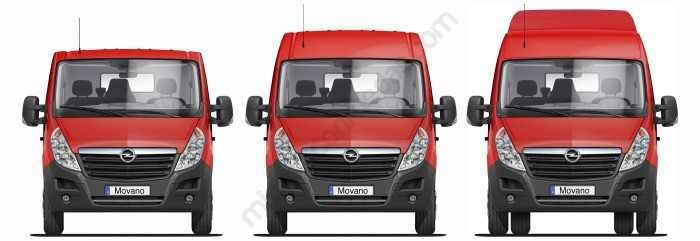 Opel Movano X62