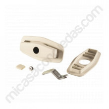 Cerradura de compresión Salino blanca 249F