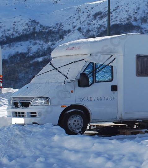 Estable cadenas de nieve 225//55 R 17 con ö-norma off road caravana Transporter 3916