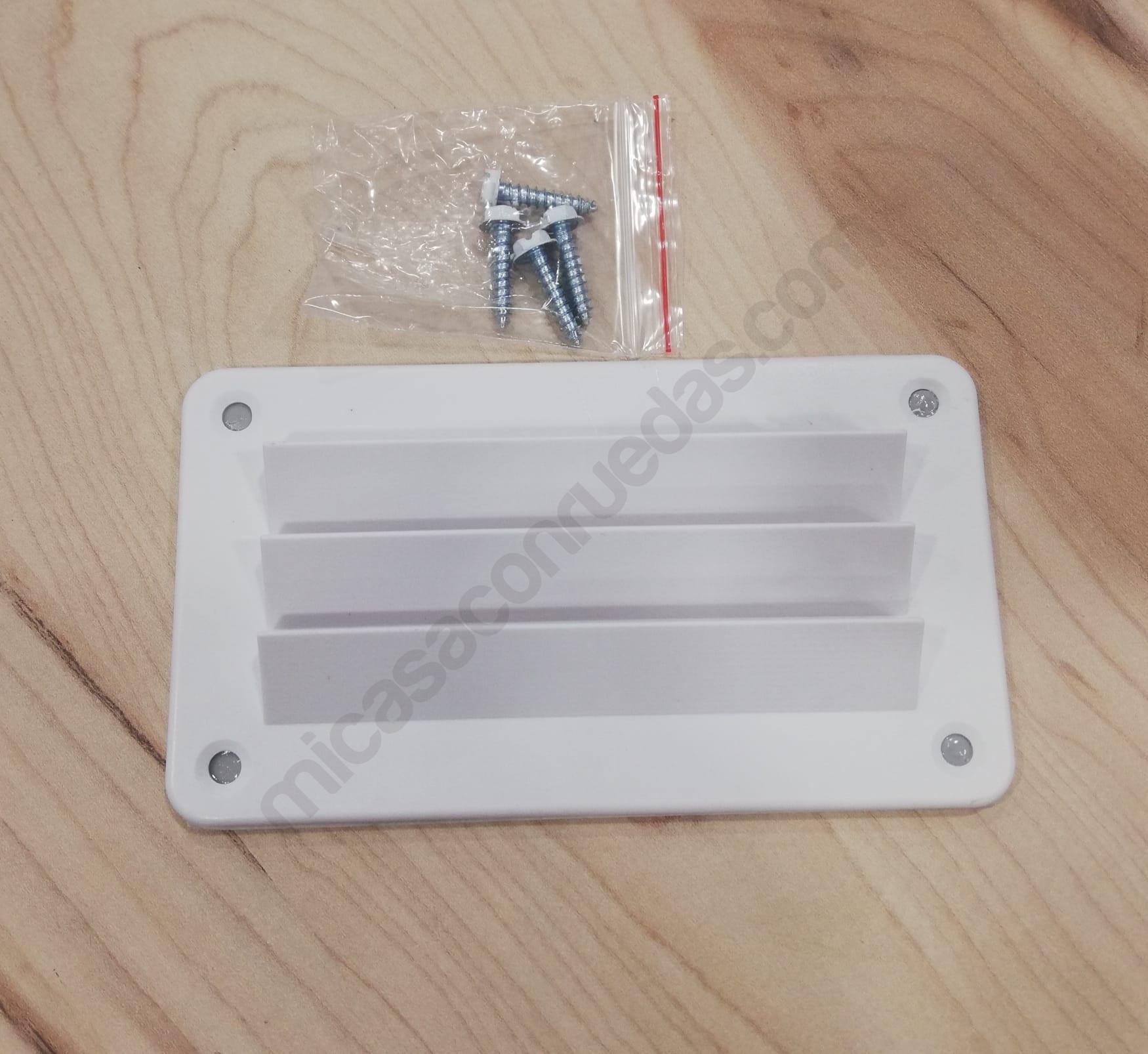 Rejilla de ventilación 142x80 mm