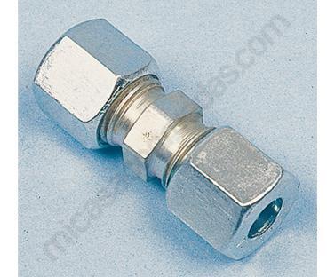 raccord para tubo gas 10 mm