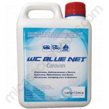 wc blue net