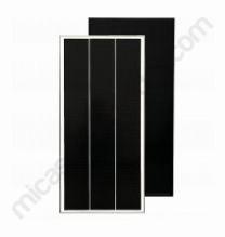 placa solar all black 150W