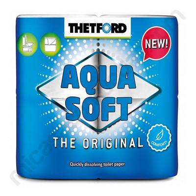 Papel higiénico Aqua Soft Thetford 4 unidades