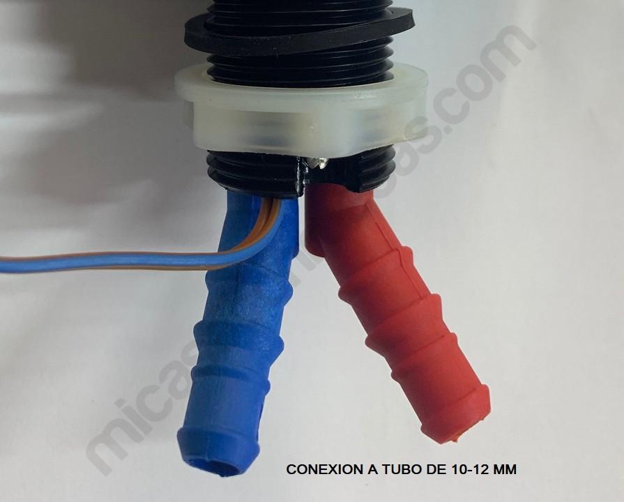 Conexión grifo a tubo manguera