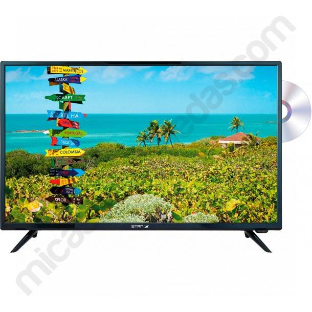 """Televisión Autocaravana 23,6"""" StanLine LED HD - TV, con DVD"""