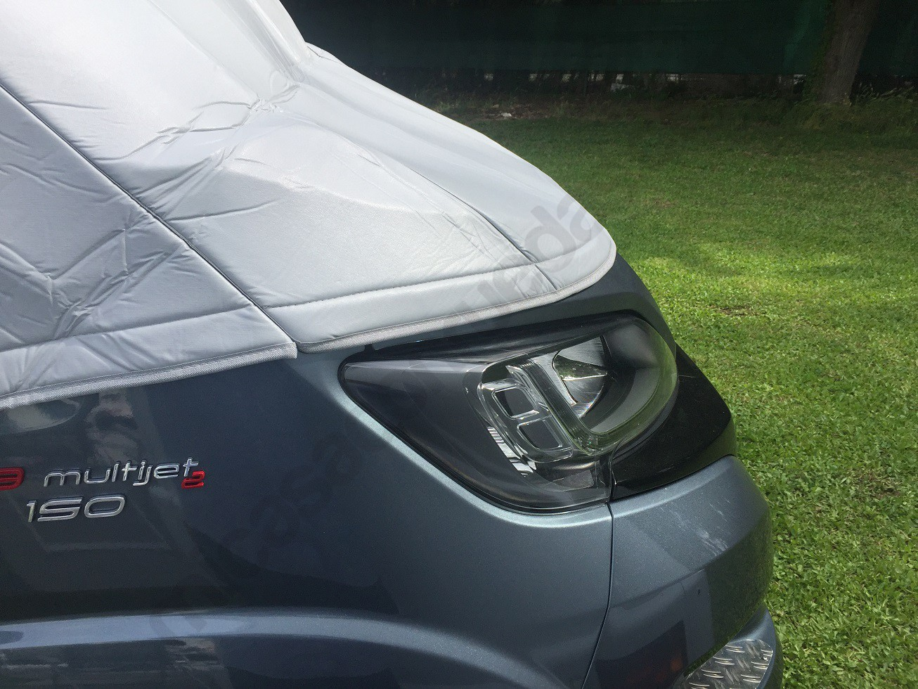 Aislante térmico Ducato autocaravana detalle