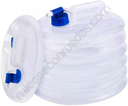 bidó aigua autocaravana