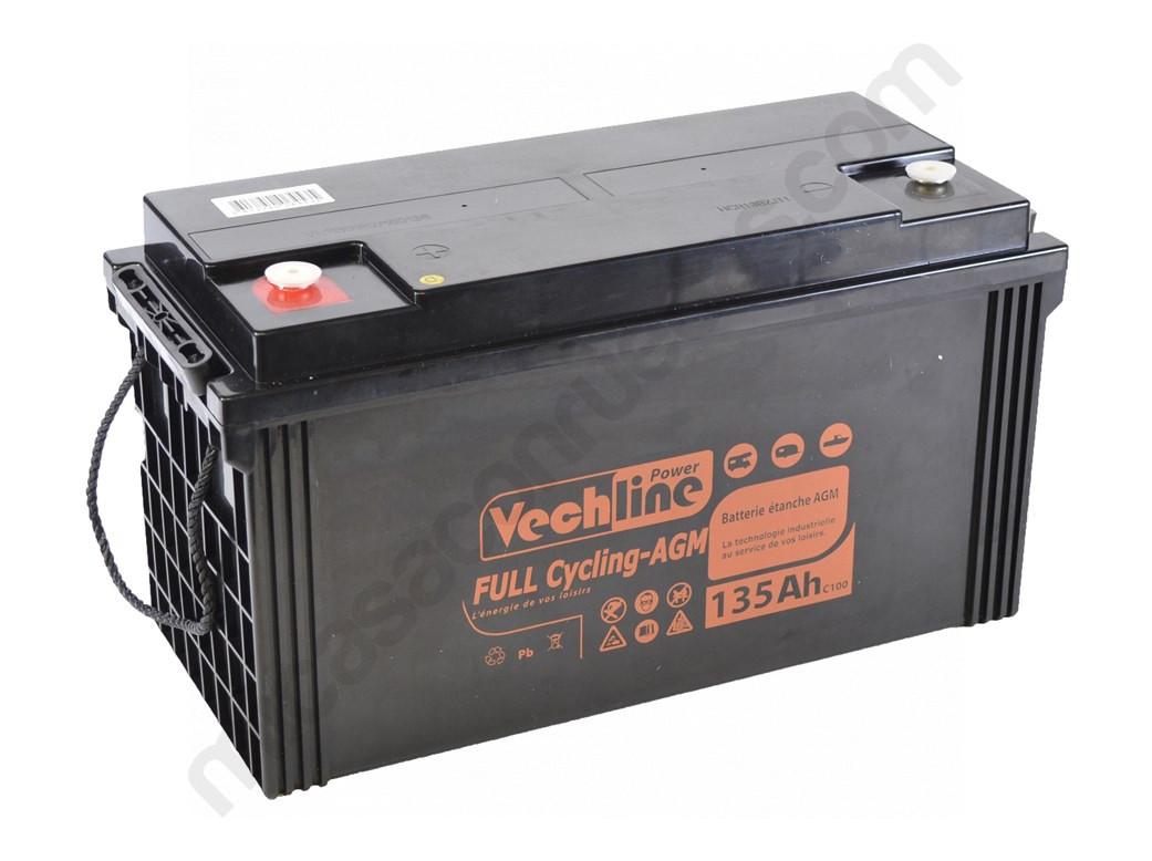 batería autocaravana AGM 120AH