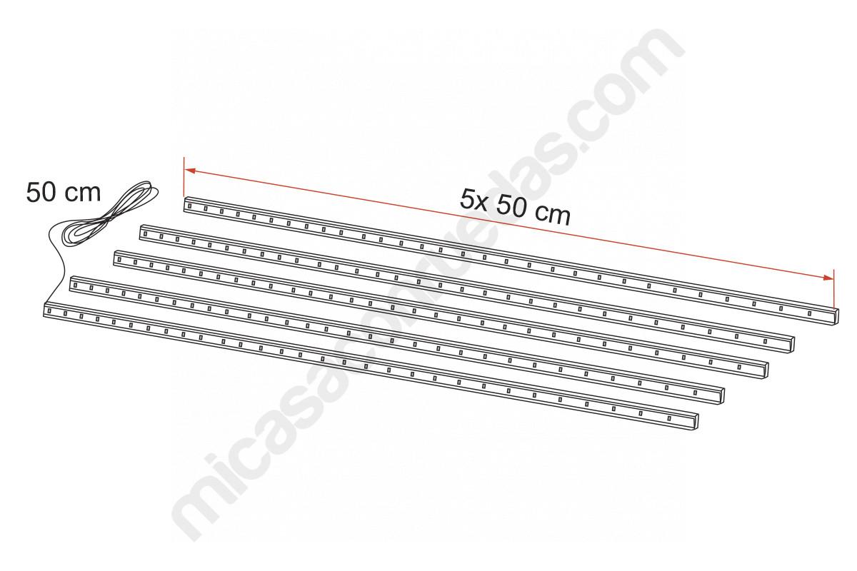 Sistema de barres llums LED awning CASE per a exterior