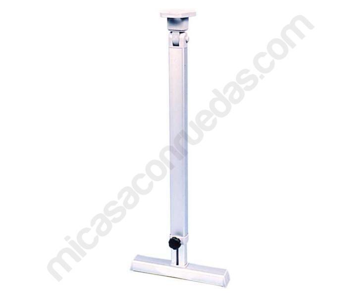 Pie de mesa extensible con apoyo 59 78 cm for Mesa apoyo cocina